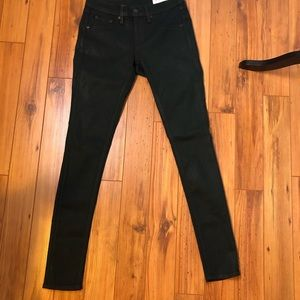 Rag and bone jeans coated size 25